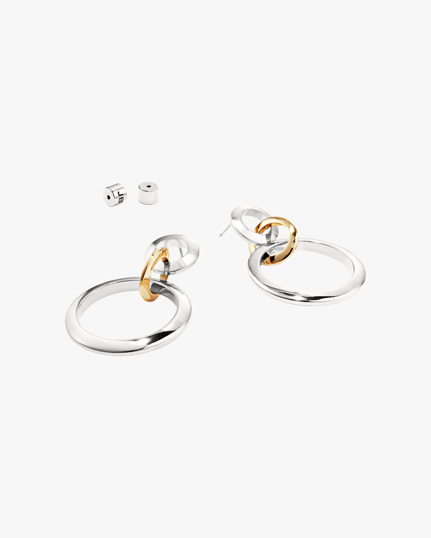 Jenny Bird Trio Drop Link Earrings 2