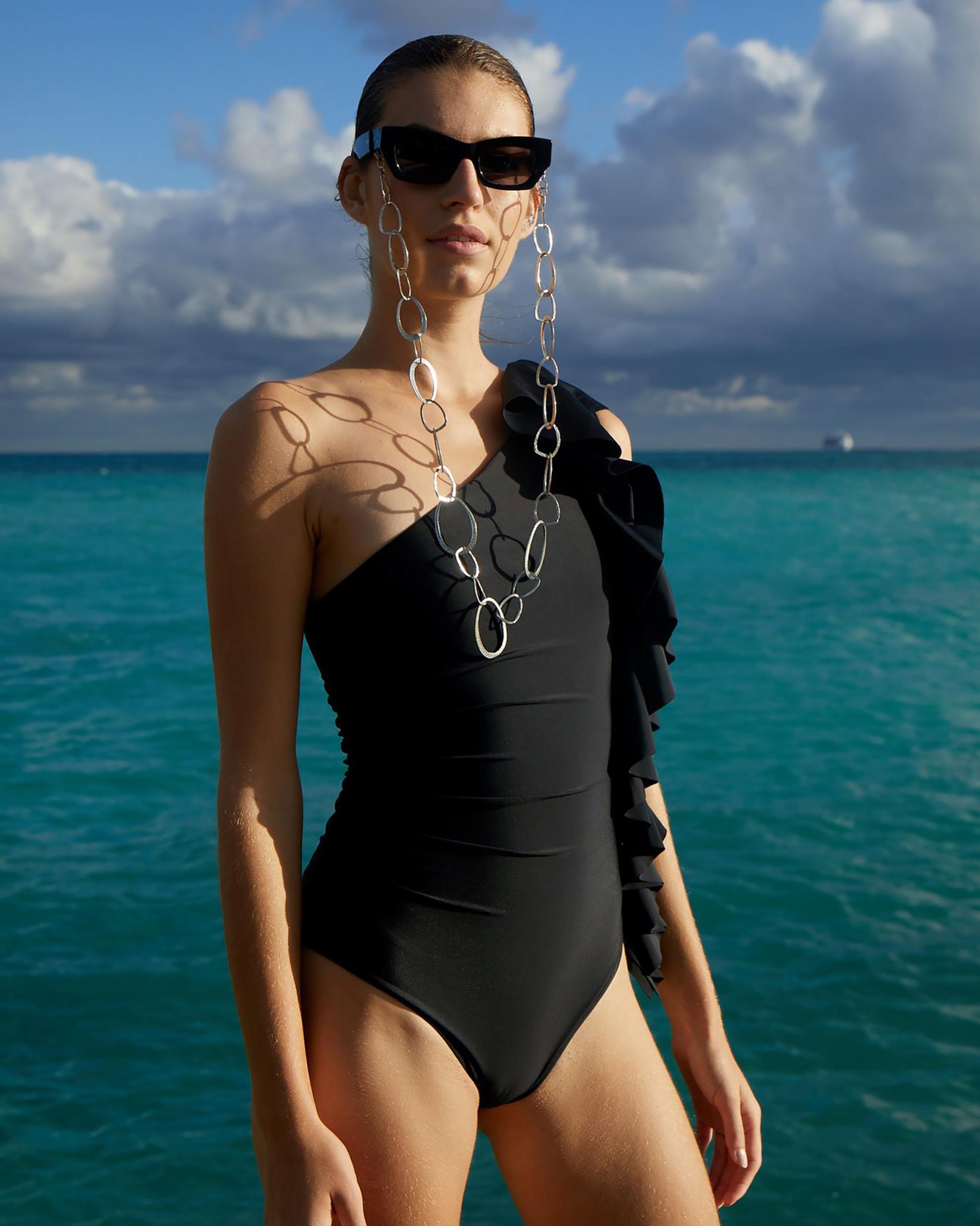 Paper London Coconut One-Piece Swimsuit 0