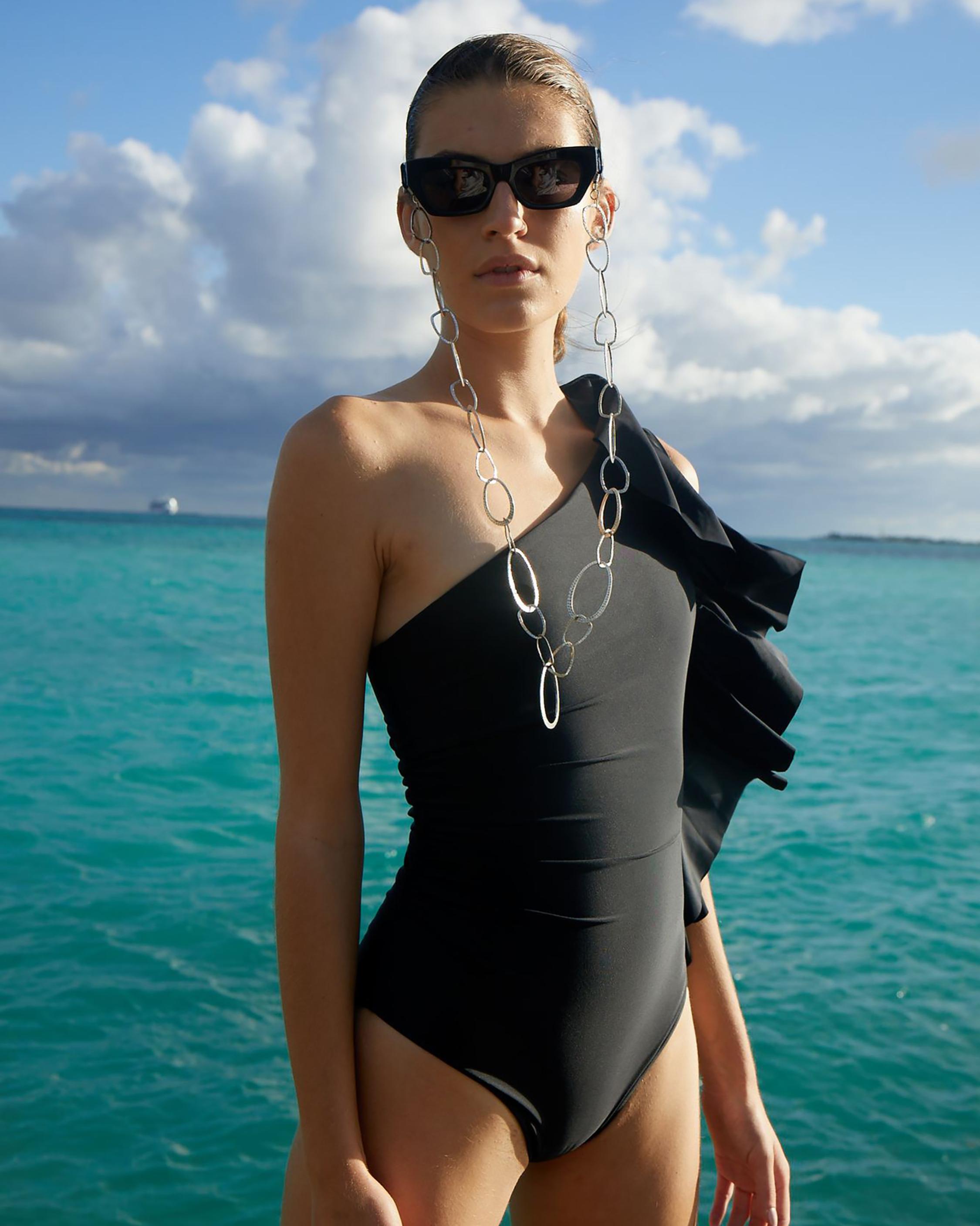 Paper London Coconut One-Piece Swimsuit 1