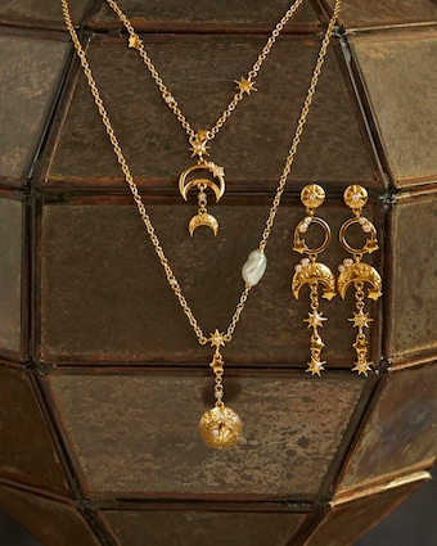 Gurhan Luna Pendant Necklace 2