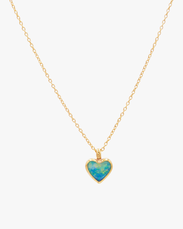 Gurhan Opal Heart Pendant Necklace 2