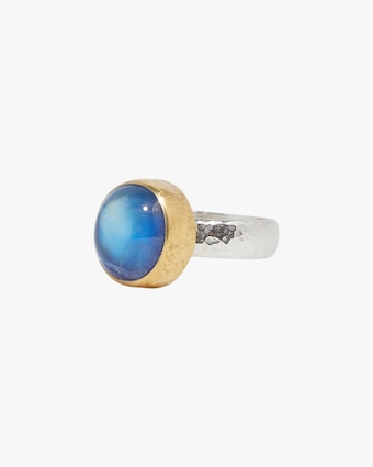 Gurhan One of a Kind Galapagos Blue Moonstone Ring 2