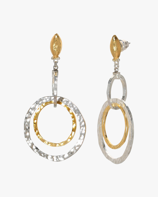 Gurhan Twist Double-Drop Earrings 2