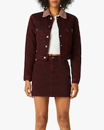 Hudson Lola Shrunken Trucker Jacket 0