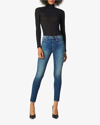 Hudson Barbara High-Rise Super-Skinny Ankle Jeans 1