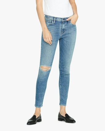 Hudson Nico Mid-Rise Super-Skinny Ankle Jeans 2