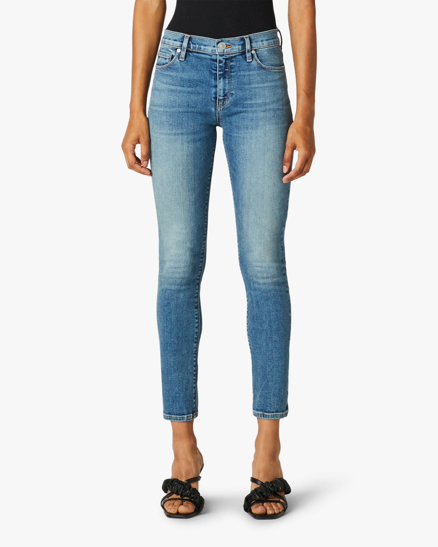 Hudson Nico Mid-Rise Super-Skinny Ankle Jeans 1