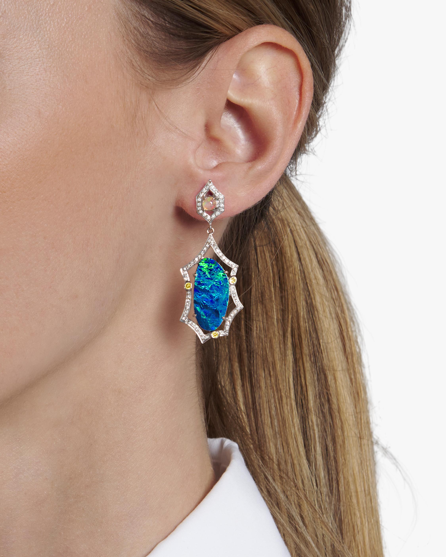 Sanjay Kasliwal Abhilasha Opal Earrings 1