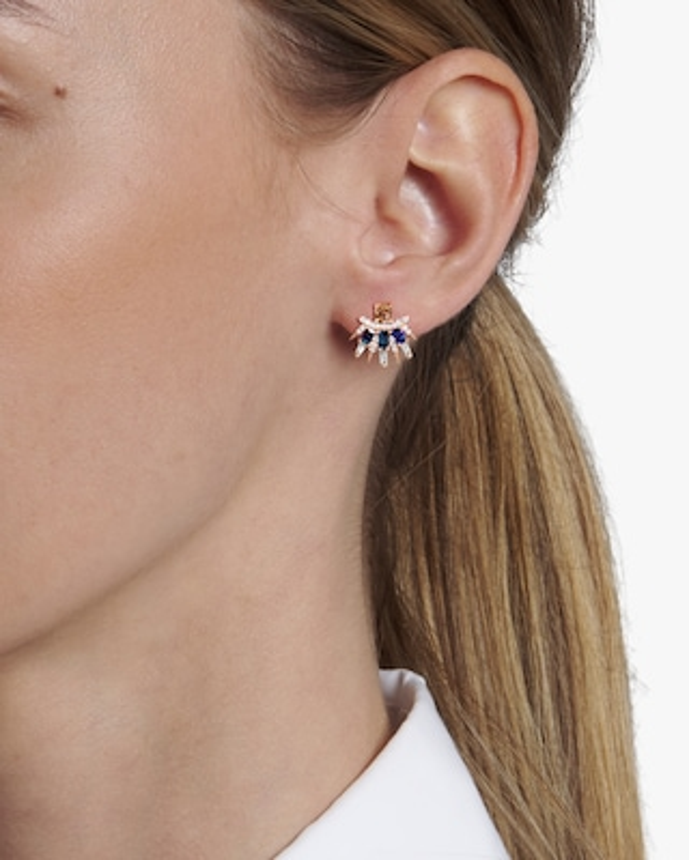 Sanjay Kasliwal Tilika Sapphire Stud Earrings 2