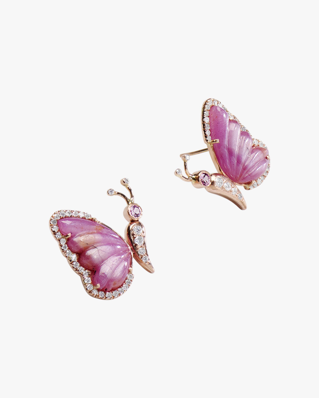 Sanjay Kasliwal Titli Tourmaline Earrings 1