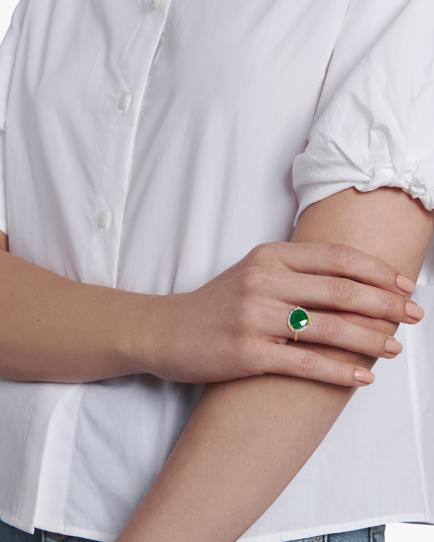 Sanjay Kasliwal Lochan Emerald Ring 2