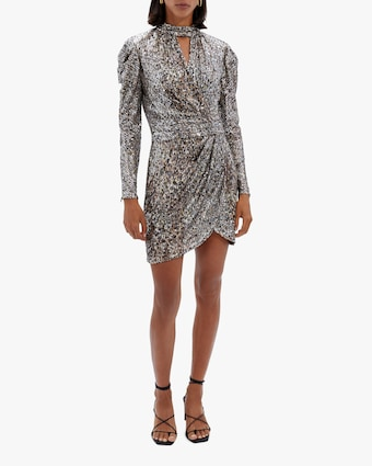 Jonathan Simkhai Mallory Sequin Mini Dress 1