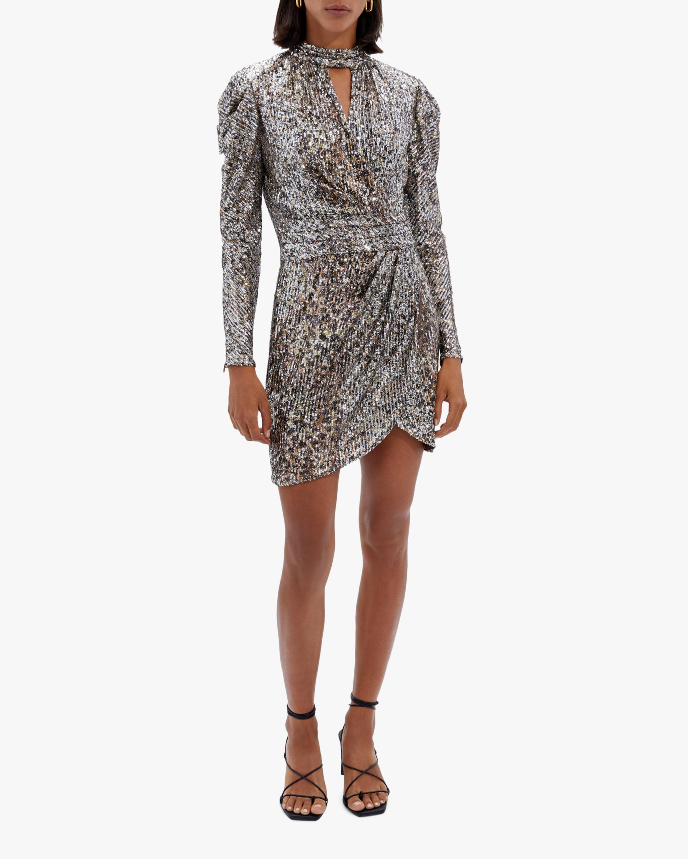 Jonathan Simkhai Mallory Sequin Mini Dress 0
