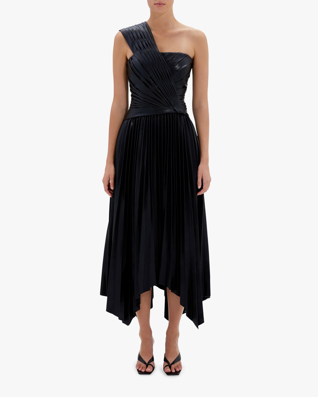 Jonathan Simkhai Strapless Knot Midi Dress 1