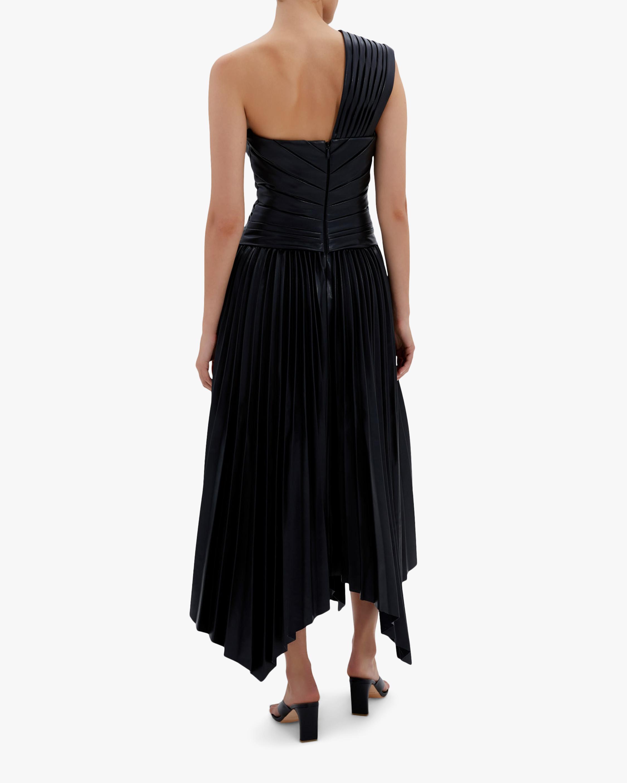 Jonathan Simkhai Strapless Knot Midi Dress 2