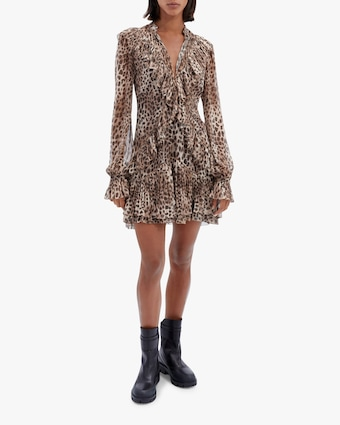 Jonathan Simkhai Joya Chiffon Mini Dress 1