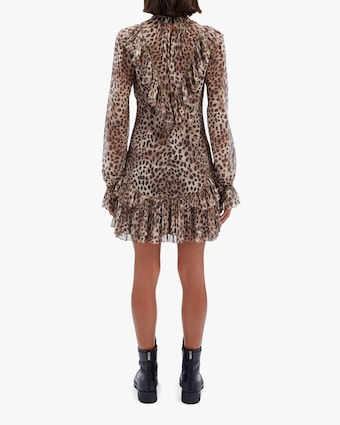 Jonathan Simkhai Joya Chiffon Mini Dress 2
