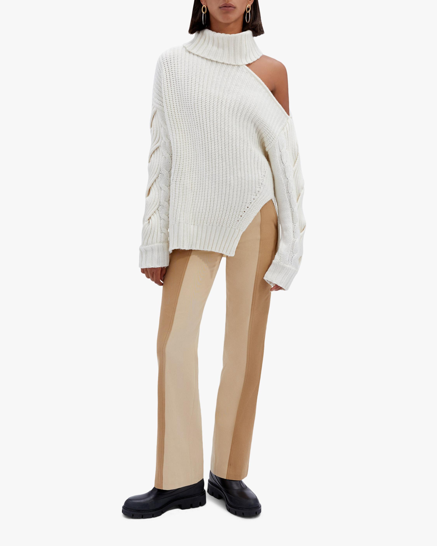 Jonathan Simkhai Aubrey Cable-Knit Sweater 1
