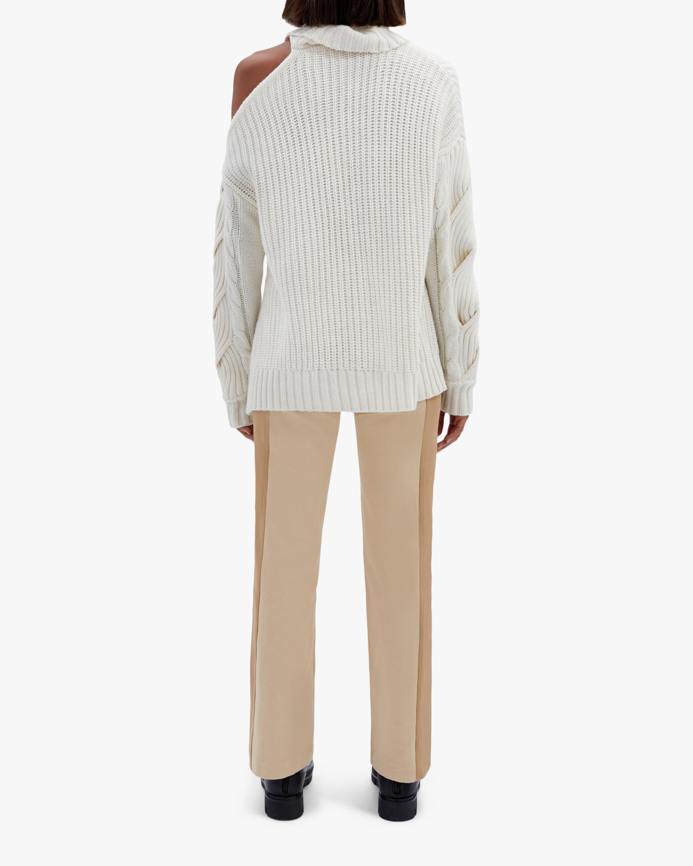 Jonathan Simkhai Aubrey Cable-Knit Sweater 2