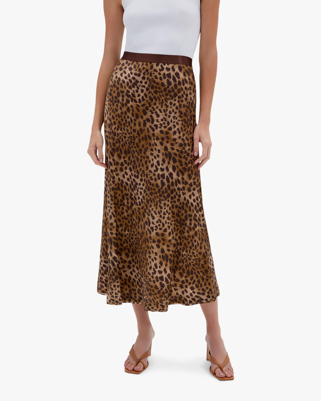 Jonathan Simkhai Sylvia Silk Slip Skirt 2