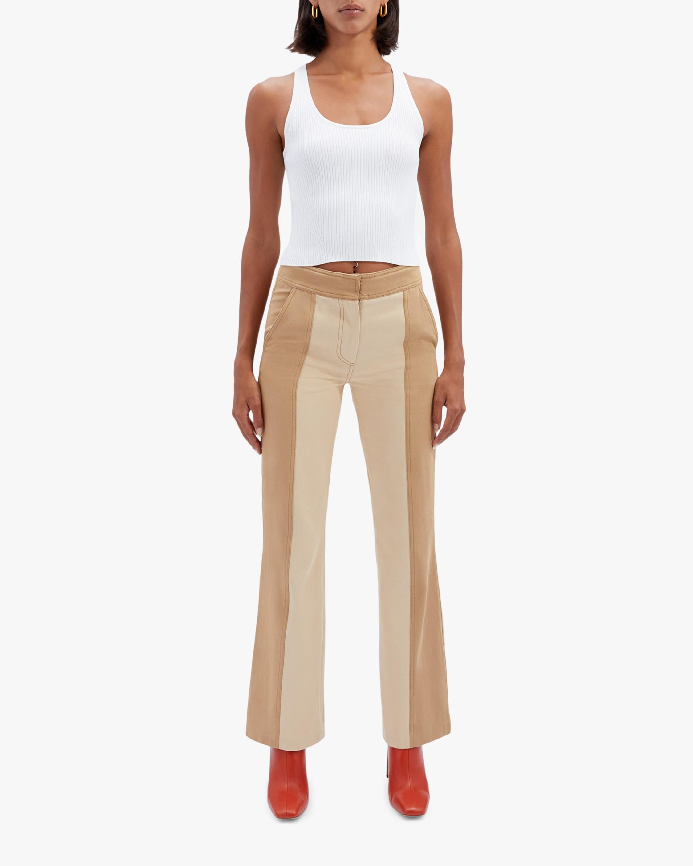 Jonathan Simkhai Marley Two-Toned Pants 1