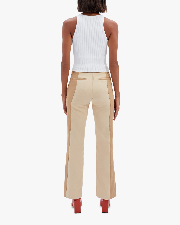 Jonathan Simkhai Marley Two-Toned Pants 2