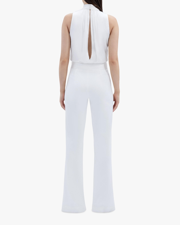 Jonathan Simkhai Kenzie Silk Bodysuit 2