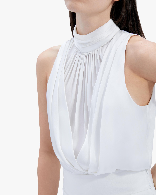 Jonathan Simkhai Kenzie Silk Bodysuit 3