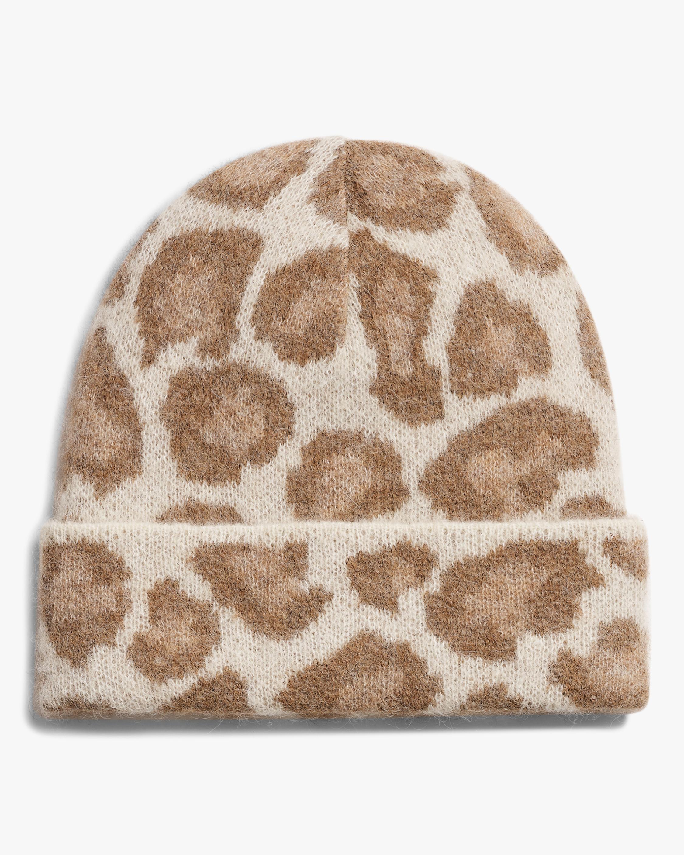 rag & bone Cheetah Beanie 1