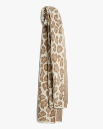 rag & bone Cheetah Scarf 1