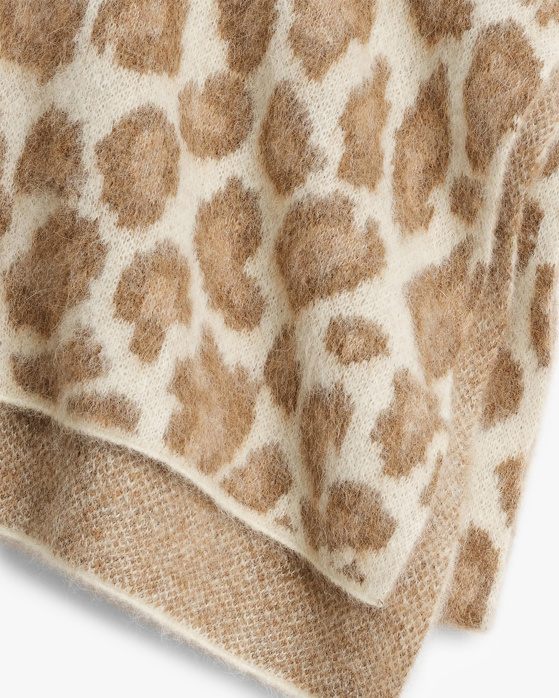 rag & bone Cheetah Scarf 1
