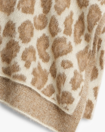 rag & bone Cheetah Scarf 2