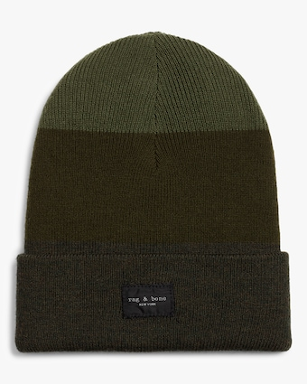 rag & bone Striped Addison Beanie 1