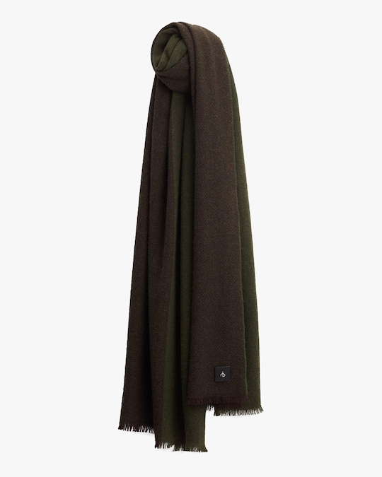rag & bone Color Block Riley Cashmere Scarf 0