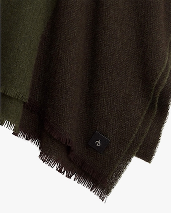 rag & bone Color Block Riley Cashmere Scarf 2