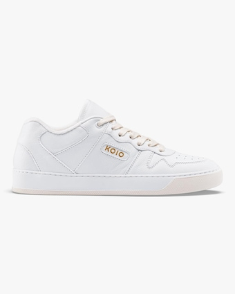 KOIO Men's Metro Triple-White Sneaker 1
