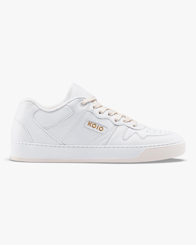 KOIO Men's Metro Triple-White Sneaker 1