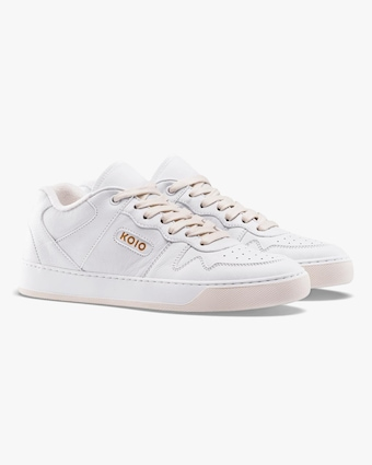 KOIO Men's Metro Triple-White Sneaker 2