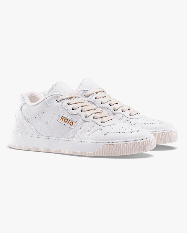 KOIO Men's Metro Triple-White Sneaker 2