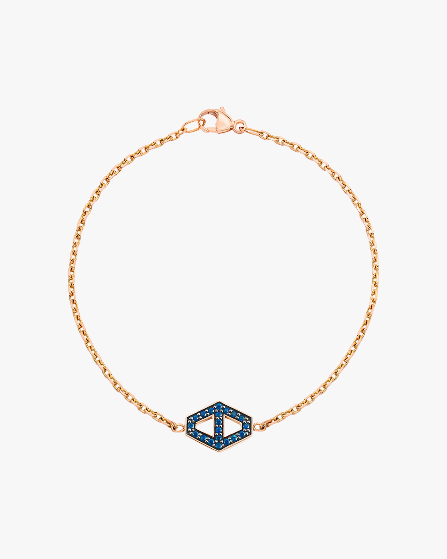 Walters Faith Blue Sapphire Hexagon Bracelet 1