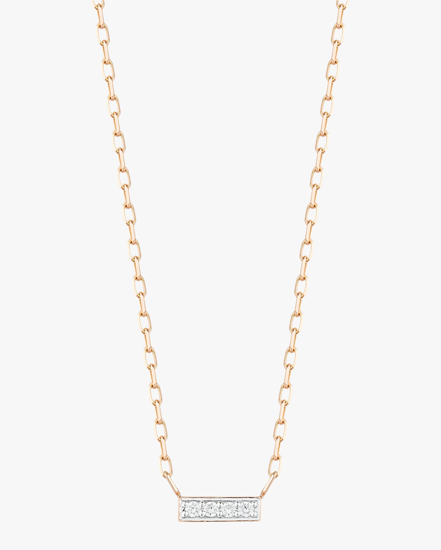 Walters Faith Diamond Mini Bar Necklace 1