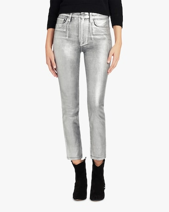 Joe's Jeans The Luna Metallic Ankle Jeans 1