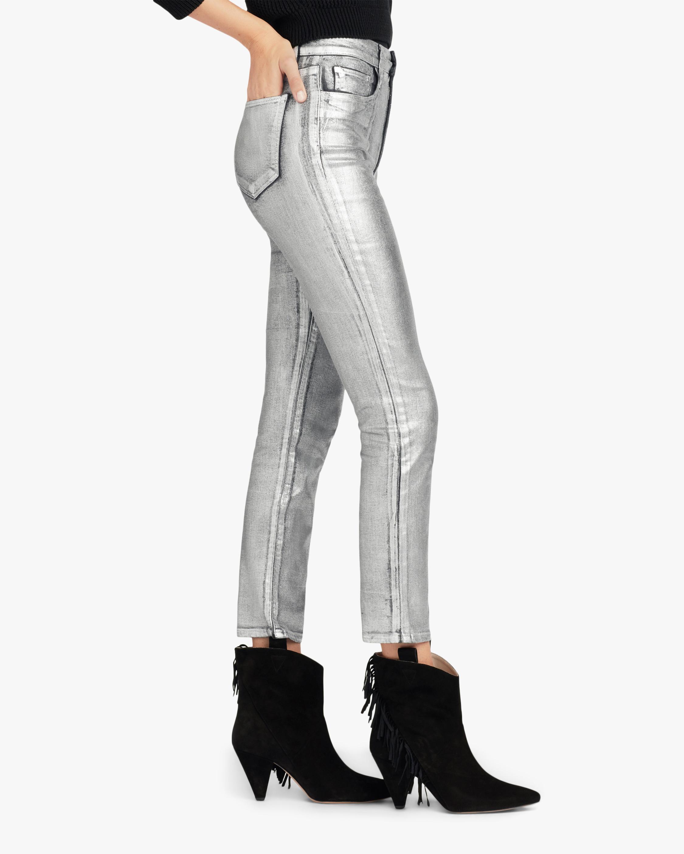 Joe's Jeans The Luna Metallic Ankle Jeans 2