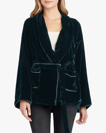 Joe's Jeans Talon Velvet Lounge Jacket 1