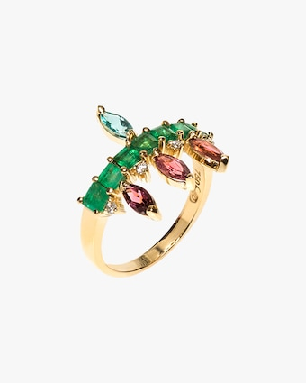 Carolina Neves Diamond & Gemstone Ring 1