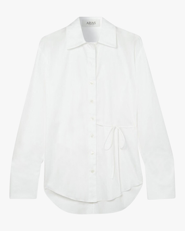 Arias New York Cotton Side-Tie Blouse 2