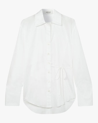 Arias Cotton Side-Tie Blouse 2