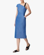 Arias New York Ribbon Strap One-Shoulder Dress 3