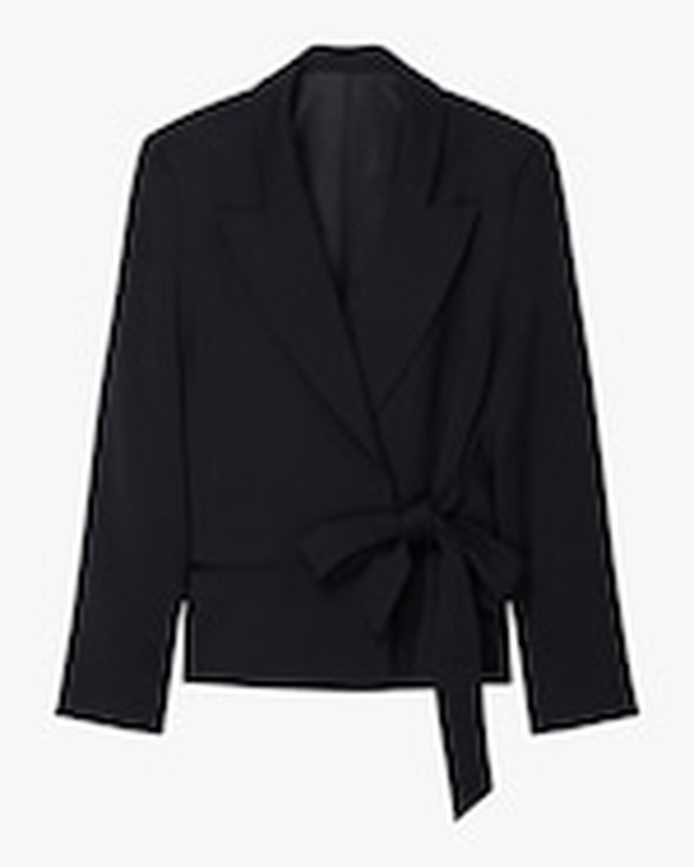 Arias New York Side-Tie Tuxedo Jacket 0