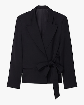 Arias New York Side-Tie Tuxedo Jacket 1